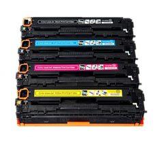 HP Color LaserJet CE320A / CE321A / CE322A / CE323A utángyártott toner készlet - PQ