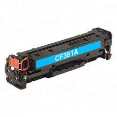 HP Color LaserJet Pro M476 CF381A utángyártott toner CYAN 2,7k – PQ