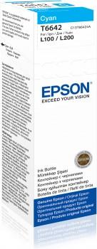 Epson L100, L200, L300 eredeti tintapatron CYAN 70ml – ORIG