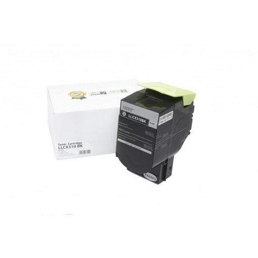 Lexmark CX310, CX410 utángyártott toner prémium minőség, 2500 oldal, FEKETE